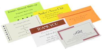 Business cards business card sheets for inkjet or laser printers reheart Images