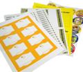 Press Proof (Sheet Labels)