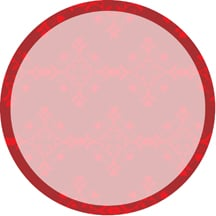 Round Background For Quick Candle Labels - Round label template